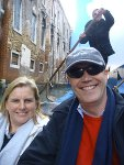 Phill Sporton and his wife Jen enjoying a trip to Venice