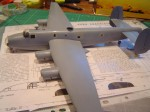 All together ready for painting, have a look at that wingspan !